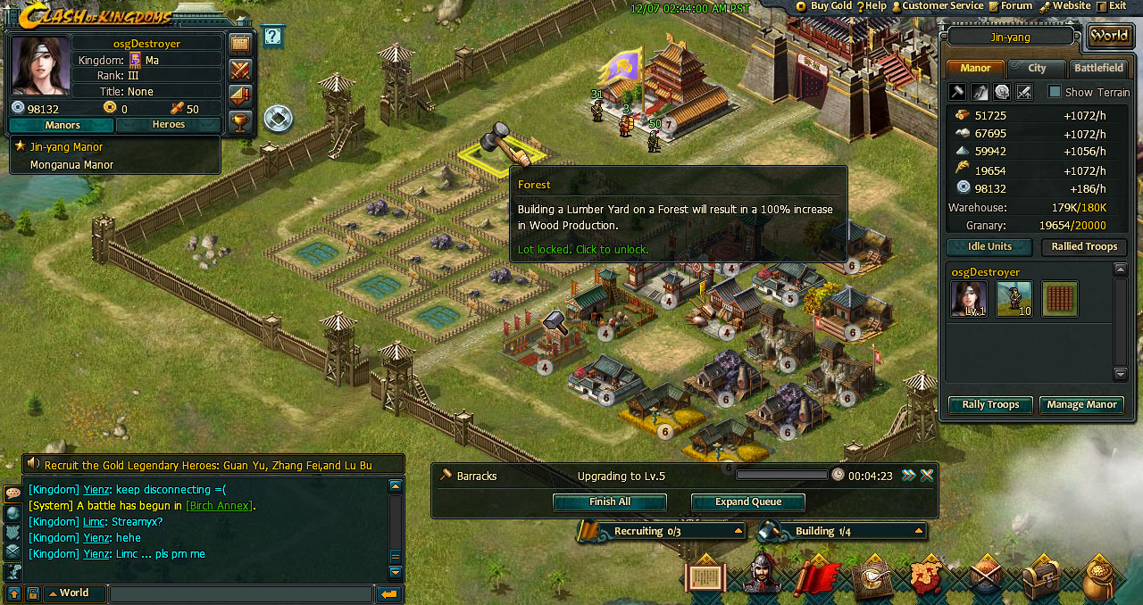 Clash Of Kingdoms Review Osg1 Best Place For Online Strategy Games