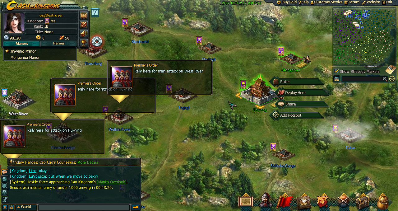 Clash Of Kingdoms Osg1 Best Place For Online Strategy Games
